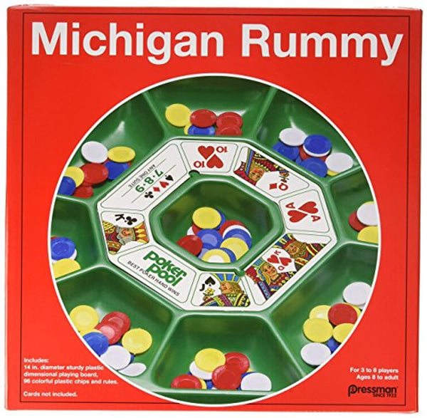 Pressman Michigan Rummy The Perfect Blend of Rummy and Poker