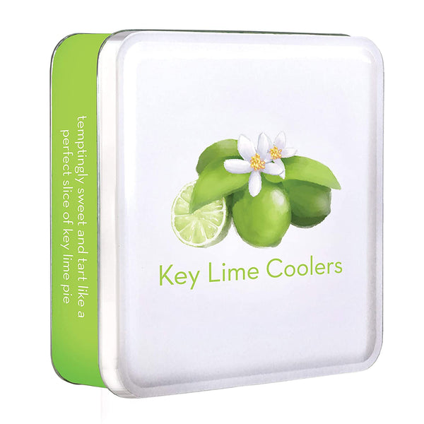Byrd's Famous Cookies 6 Oz. Cookie Tins - Gift Ready Iconic Flavors (Key Lime Coolers Icon)