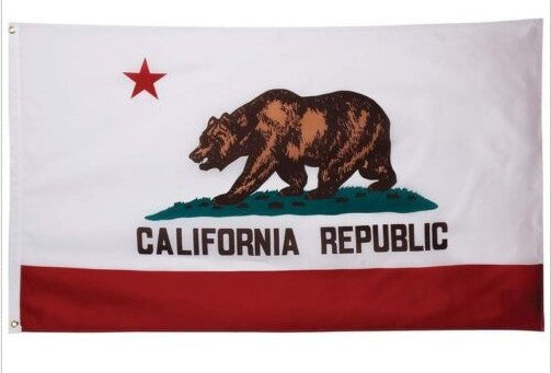 CALIFORNIA STATE FLAG CA USA 3x5