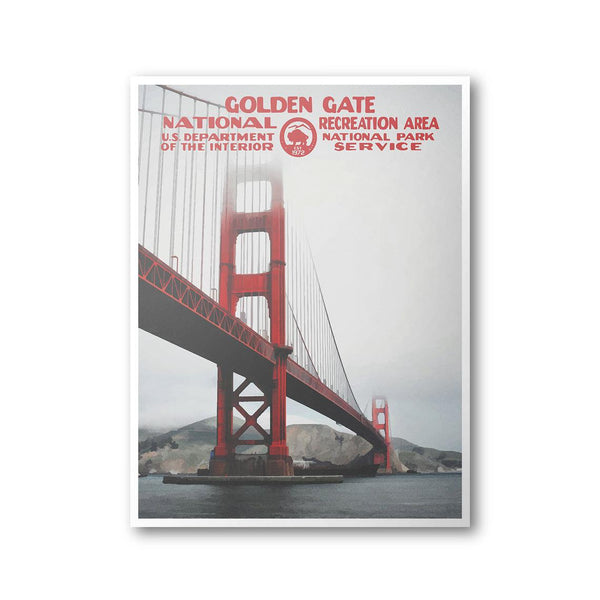 Golden Gate National Area Poster 8x10