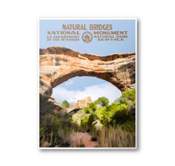 Natural Bridges National Monument 8x10