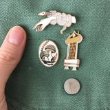 The Dunes Hotel Pin White