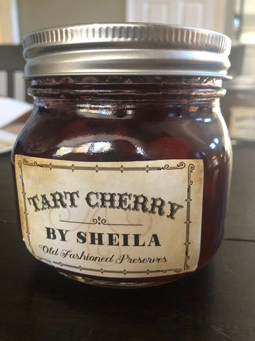Michigan Tart Cherry Preserves 16 oz