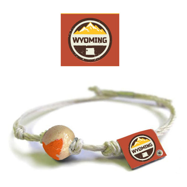 Wyoming Earth Bands Braclet Anklet Eco Friendly