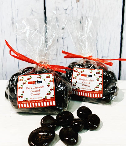 Dark Chocolate Cherries, Chocolate Cherries, Dark Chocolate, Michigan Cherries, Traverse City Cherries