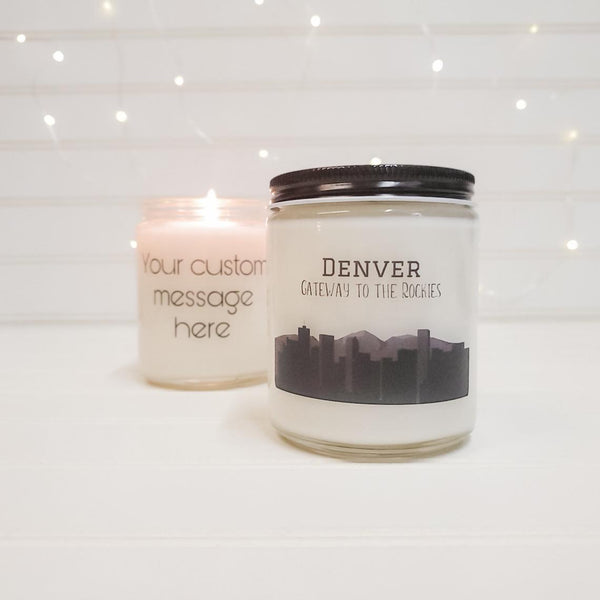Denver Candle Colorado Gift