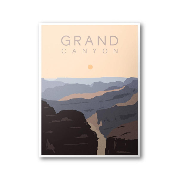 Grand Canyon Park Poster 8x10