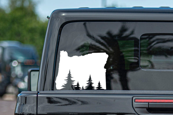 Oregon Outdoors Vinyl Decal Car