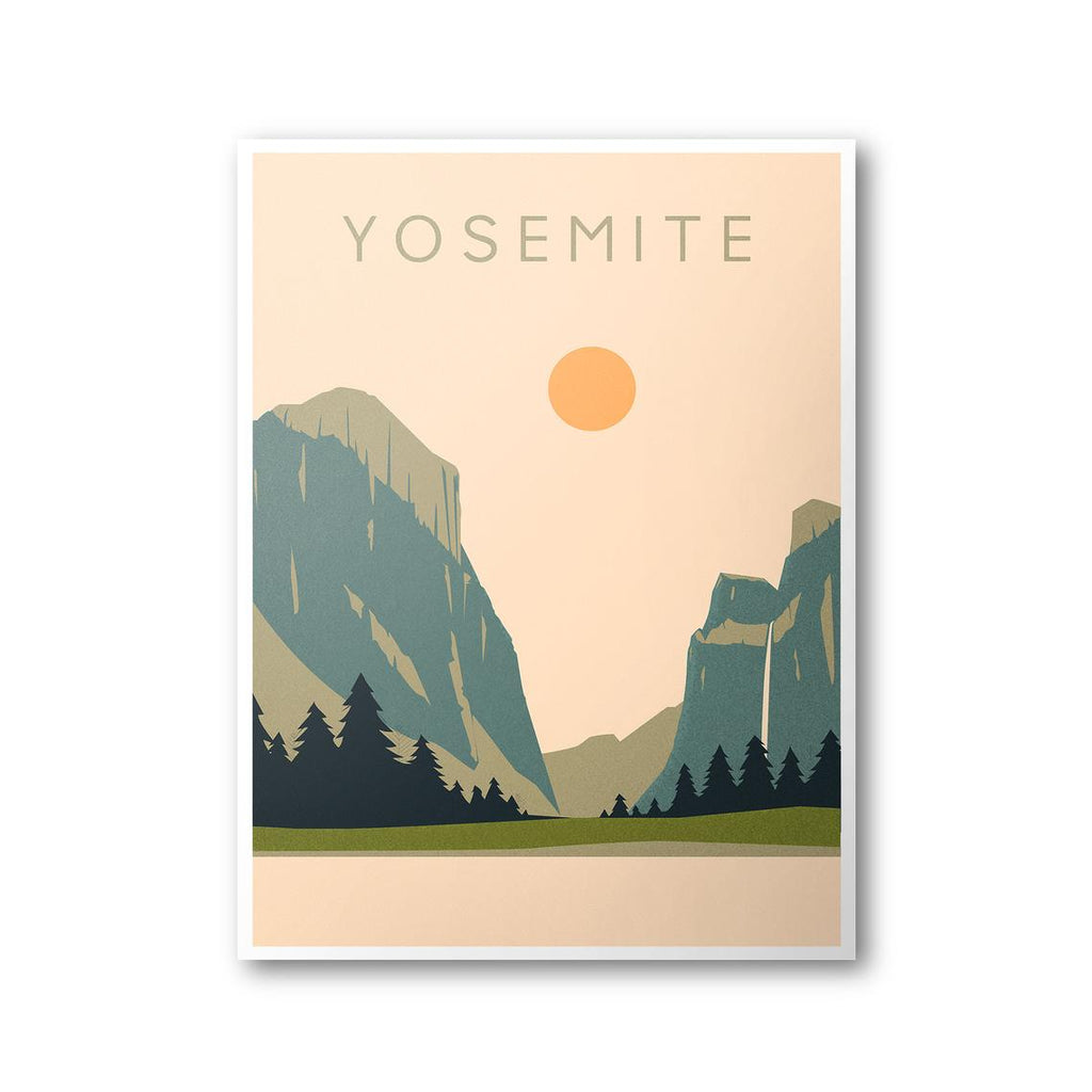Yosemite National Park Poster 8x10