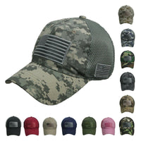 US FLAG Baseball Cap - USA hats Military Hat Support Our Troops