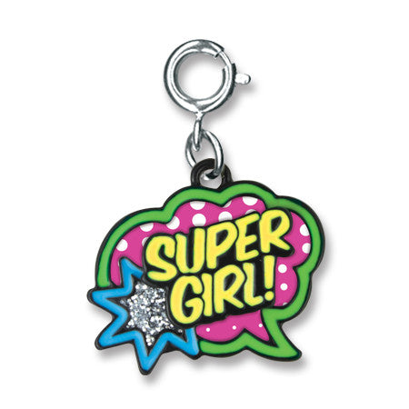 CHARM IT! Super Girl Charm