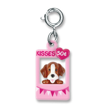 CHARM IT! Puppy Kissing Booth Charm