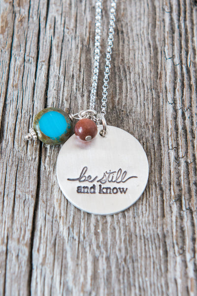 Be Still and Know Necklace