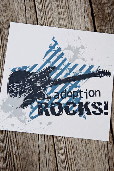 Rockin' Adoption Art Print