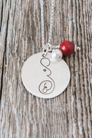 For Motherhood by Holly Steffen | Miscarriage Tattoo Necklace