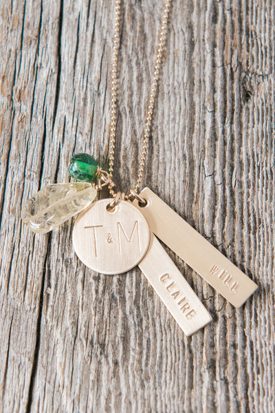 Gold Foundations Mom Necklace