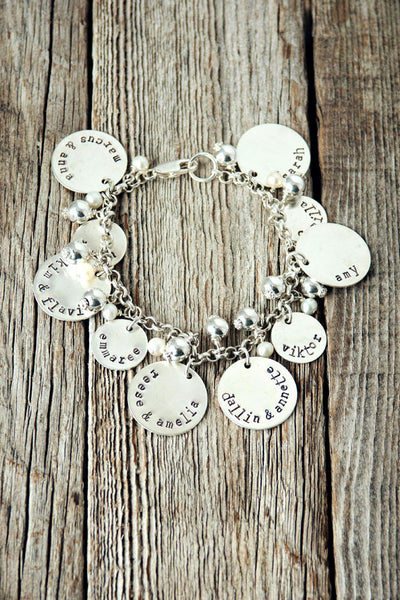 Grandma Brag Customized Charm Bracelet