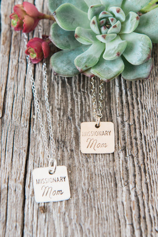 Missionary Mom Necklace
