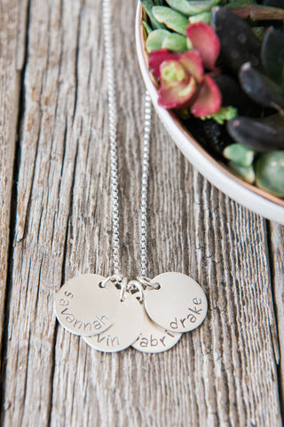 Custom Name Mother Necklace