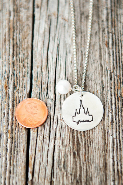 Oakland LDS Temple Necklace