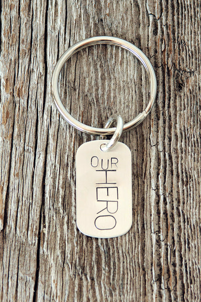 Our Hero Key Ring