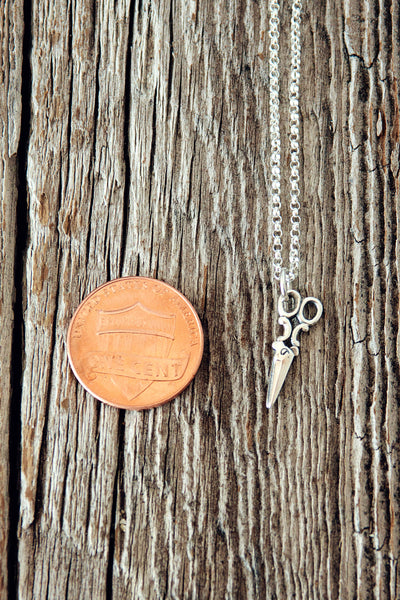Shears Charm Necklace