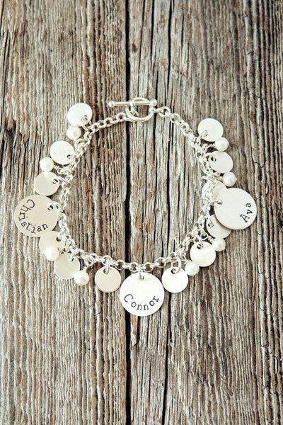 Personalized Mother Bracelet