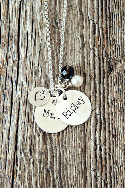 Two Name Custom Necklace