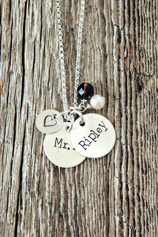 Especially For Mom Two Name Custom Necklace