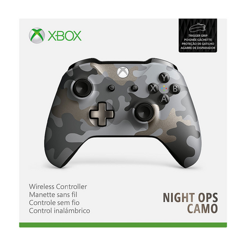 Xbox Wireless Controller Night Ops Camo
