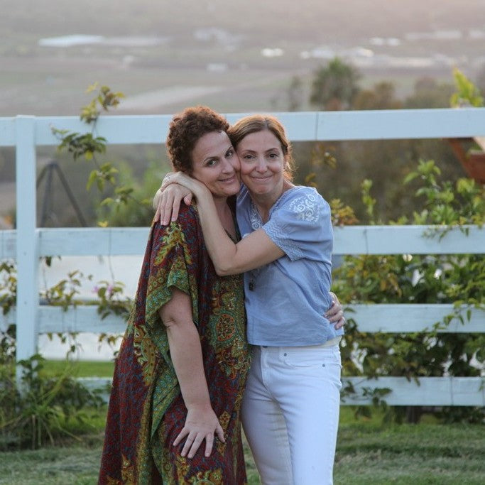 Patti and Jen a few months after Jen finished radiation treatment for breast cancer