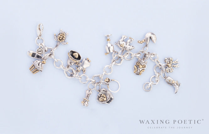 Personal vocabulary on ongoing ballad bracelet