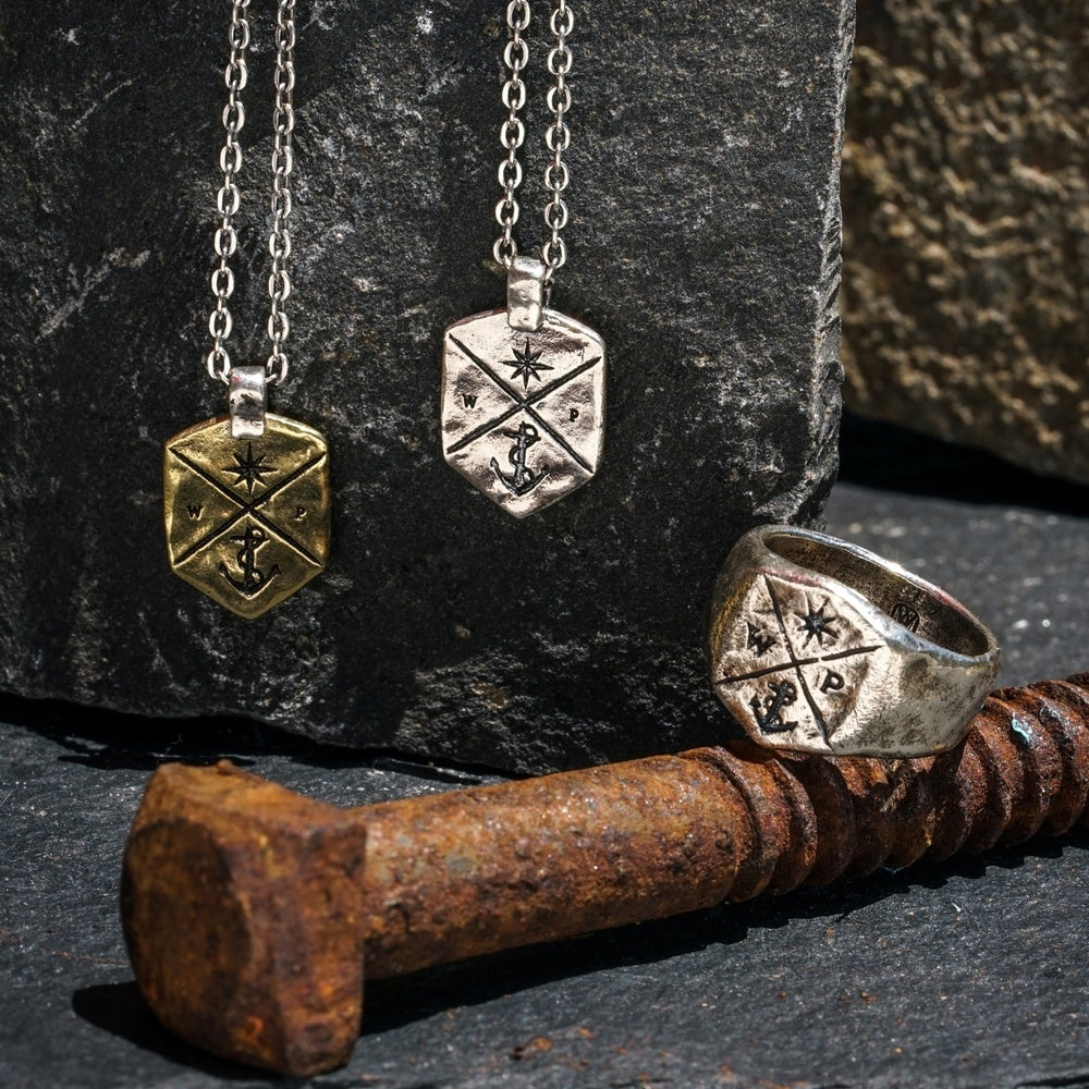 Coat of Arms Collection from POET - a men's jewelry line