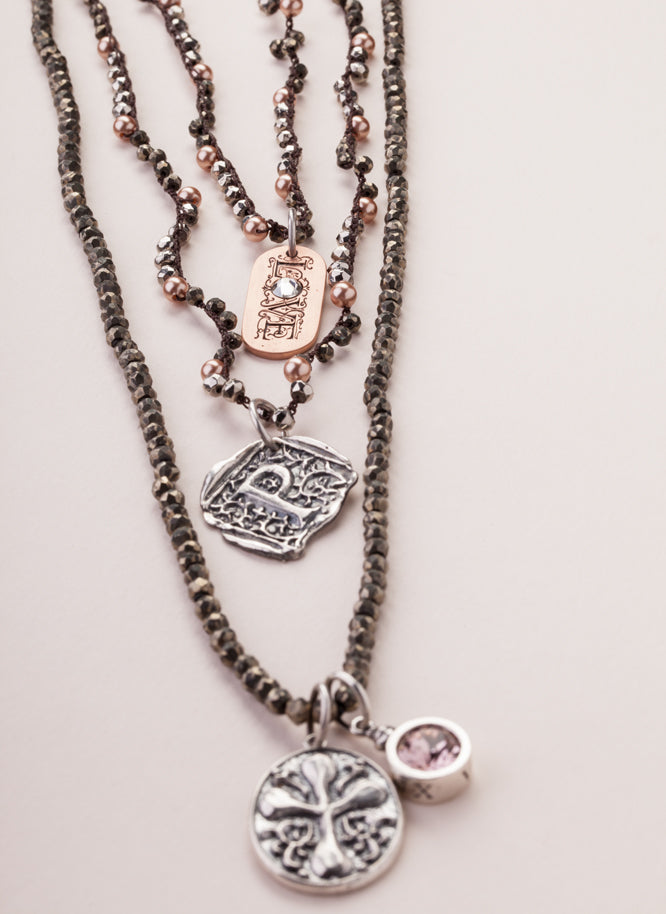 layered look, moonglow necklace, favorite muse
