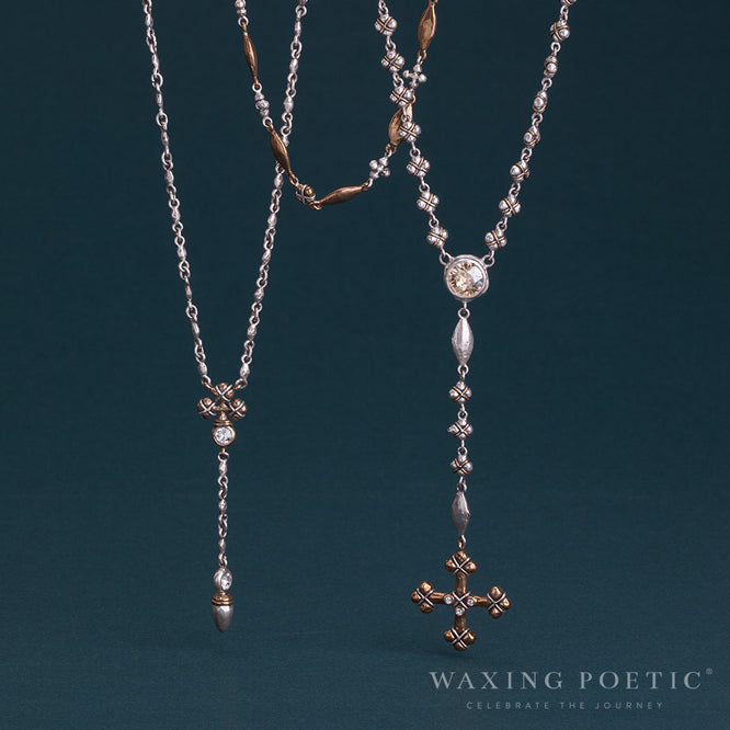 stack layers, layering, waxing poetic, necklaces