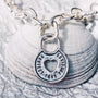 Protect Your Precious Heart Lock Pendant