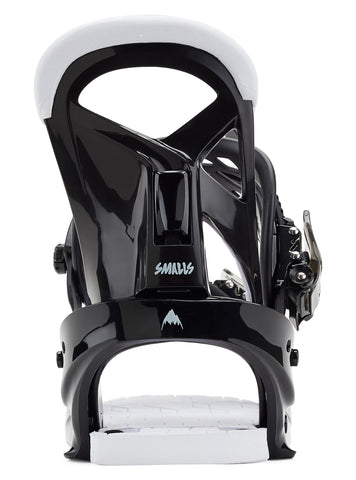 Burton | Smalls Snowboard Bindings | Kids | 2021 | Black