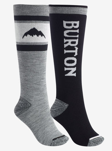Burton | Weekend Midweight Two Pack Socks | Womens | 2021 | Black