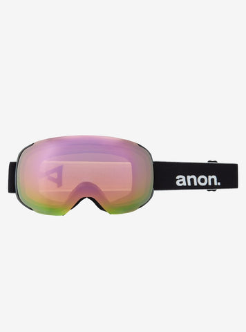 Anon | M2 Goggles & Spare Lens | Mens | Asian Fit | 2021 | Black / Perceive Variable Green Lens