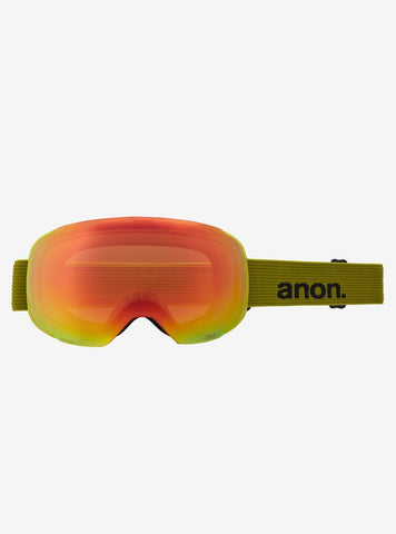 Anon | M2 Goggles & Spare Lens | Mens | 2021 | Green / Perceive Sunny Bronze Lens