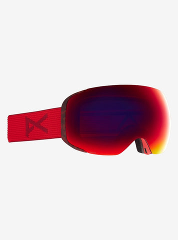 Anon | M2 Goggles & Spare Lens | Mens | 2021 | Red Tort / Perceive Sunny Red Lens