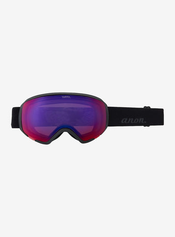 Anon | WM1 Goggles & Spare Lens | Womens | Asian Fit | 2021 | Smoke / Perceive Sunny Onyx Lens