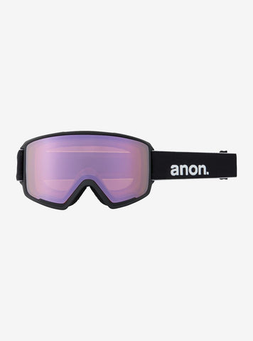 Anon | M3 Goggles MFI Face mask & Spare Lens | Mens | 2021 | Black / Perceive Variable Green Lens