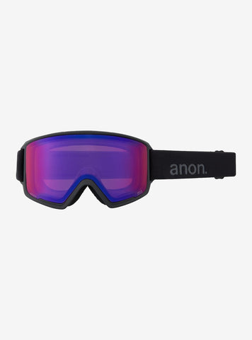 Anon | M3 Goggles & Spare Lens | Mens | 2021 | Smoke / Perceive Sunny Onyx Lens