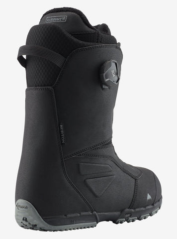 Burton | Ruler Boa Wide Snowboard Boots | Mens | 2021 | Black