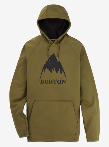 Burton | Crown Weatherproof Hoodie | Mens | 2021 | Martini Olive