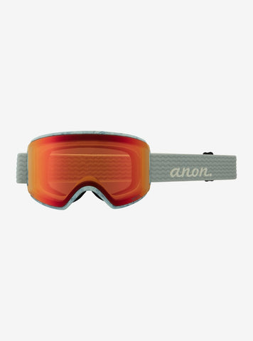 Anon | WM3 Goggles & Spare Lens | Womens | 2021 | Grey / Perceive Sunny Red Lens