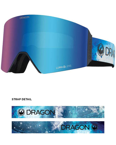 Dragon | RVX Snow Goggles | 2021 | Permafrost / Lumalens Blue Ion + Spare Lens