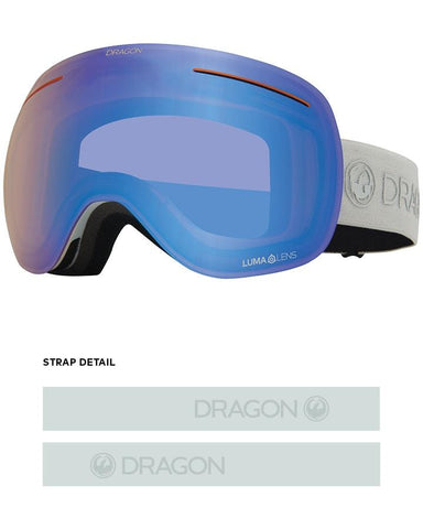 Dragon | X1 Snow Goggles | 2021 | Salt / Lumalens Flash Blue + Spare Lens