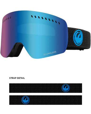Dragon | NFXS Snow Goggles | 2021 | Split / Lumalens Blue Ion + Spare Lens